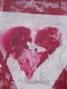 Coeur déchiré exposition K Love Karim TATAI