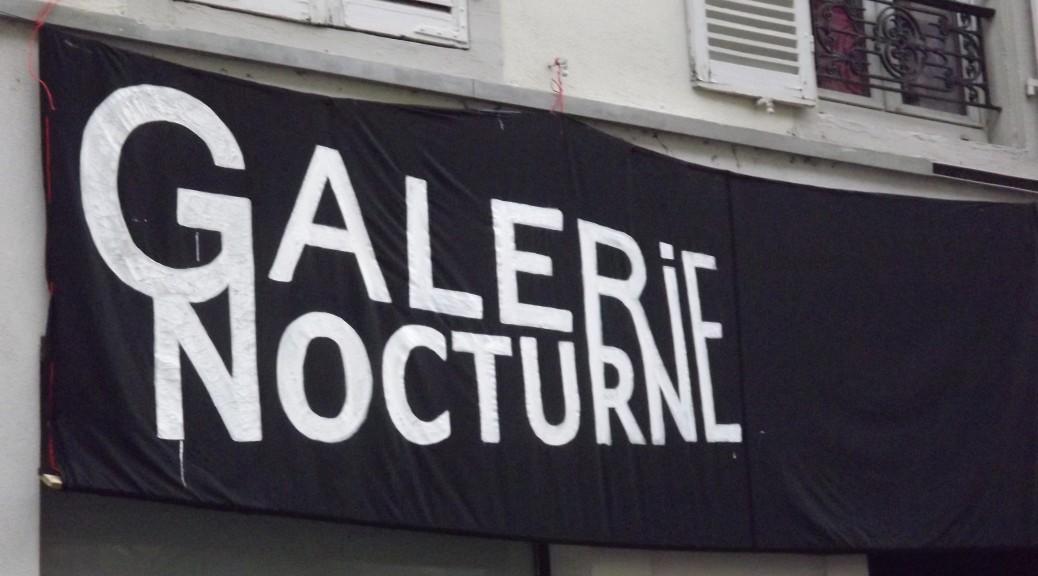 galerie nocture Karim TATAI Strasbourg