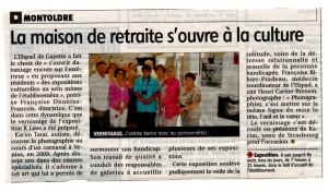 14 8 2014 Exposition K Love à Gayette dans l'Allier La Montagne