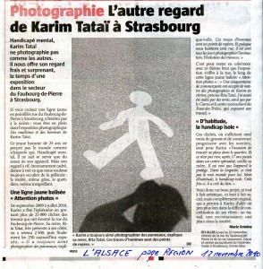 Des machines et des hommes 1é novembre 2010 Karim TATAI Strasbourg