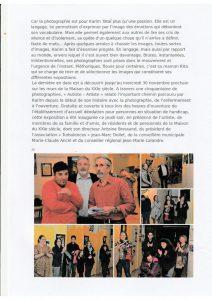 article Vosges Matin du 3 novembre 2016 Autiste Artiste Karim TATAI Strasbourg