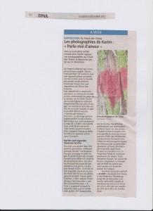 article DNA 6 décembre 2011 Karim TATAI Strasbourg K Love