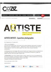 Autiste Artiste Karim TATAI Strasbourg COZE.fr