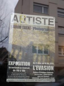 Affiche Autiste-Artiste Karim TATAI Evasion Sélestat