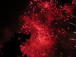 14 juillet, feu d'artifice à Strasbourg.... une pensée pour Nice-Karim-TATAI-