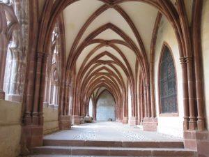 Le cloître à St Dié, Karim TATAI 2016 Strasbourg
