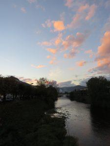 Crépuscule à St Dié Karim TATAI novembre 2016