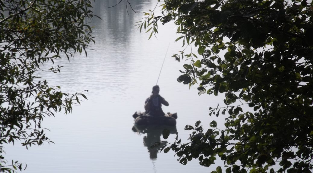 Pêcheur Base de Loisir Yvelines Karim TATAI Strasbourg