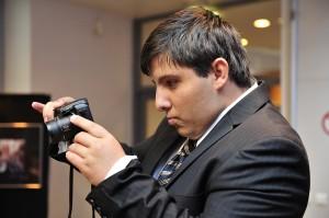Karim TATAÏ lors de sa première exposition