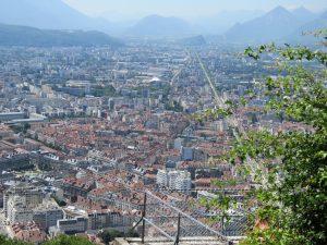 Grenoble, vue de la bastille, Karim TATAI- Strasbourg