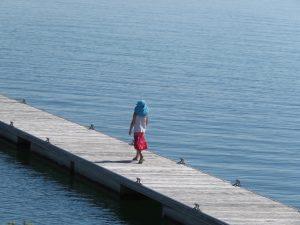 au lac de Der