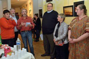 exposition autiste/artiste St Dié vernissage CP Julien Jacquemin