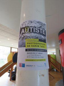 exposition autiste/artiste St Dié vernissage