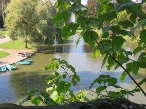 L'Orangerie de Strasbourg en septembre, le petit lac, Karim TATAI Strasbourg