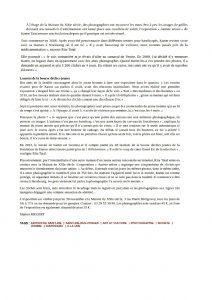 article journal Vosges Matin 3 novembre 2016 page 2