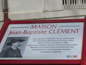 """Jean-Batiste Clément, auteur de la chanson """"Le temps des cerises"""""""