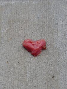 bonbon ou cœur en cire ? Karim TATAI Strasbourg