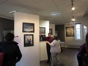 espace d'exposition Karim TATAI