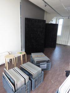 installation de l'exposition autiste-Artiste, Karim TATAI, Strasbourg