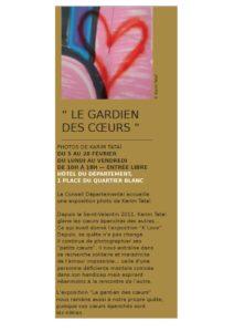 Strasbourg mon amour, programme Karim TATAI Le gardien des coeurs