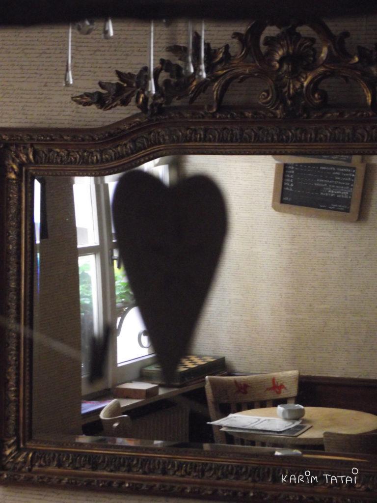 cœur dans le miroir Karim TATAI